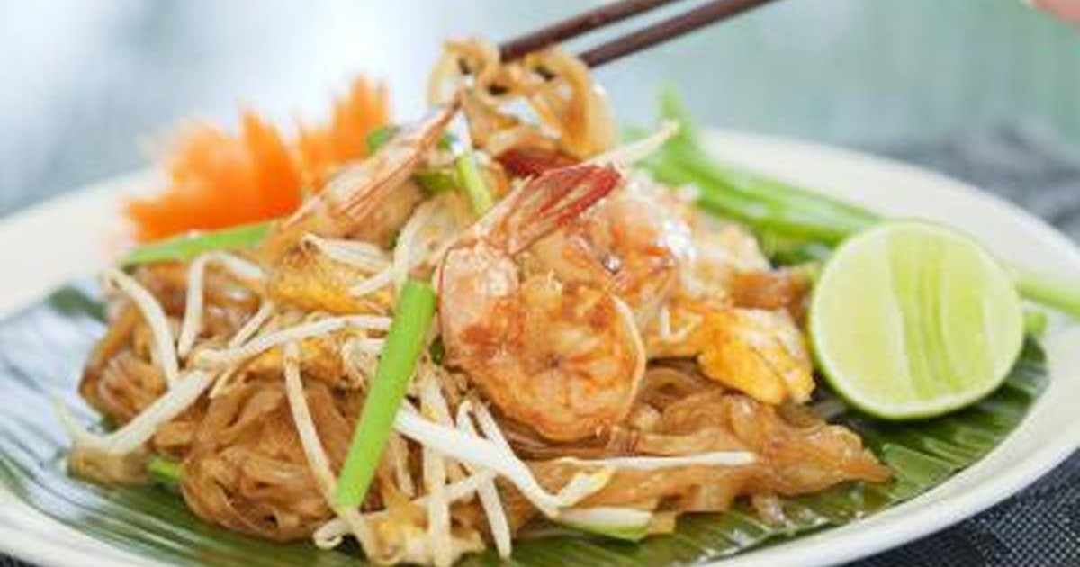Chicken Pad Thai Calories Restaurant  How Many Calories in Restaurant Pad Thai