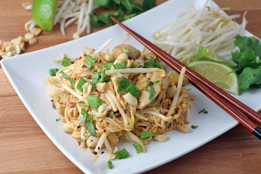 Chicken Pad Thai Calories Restaurant  Keto Chicken Pad Thai Recipe