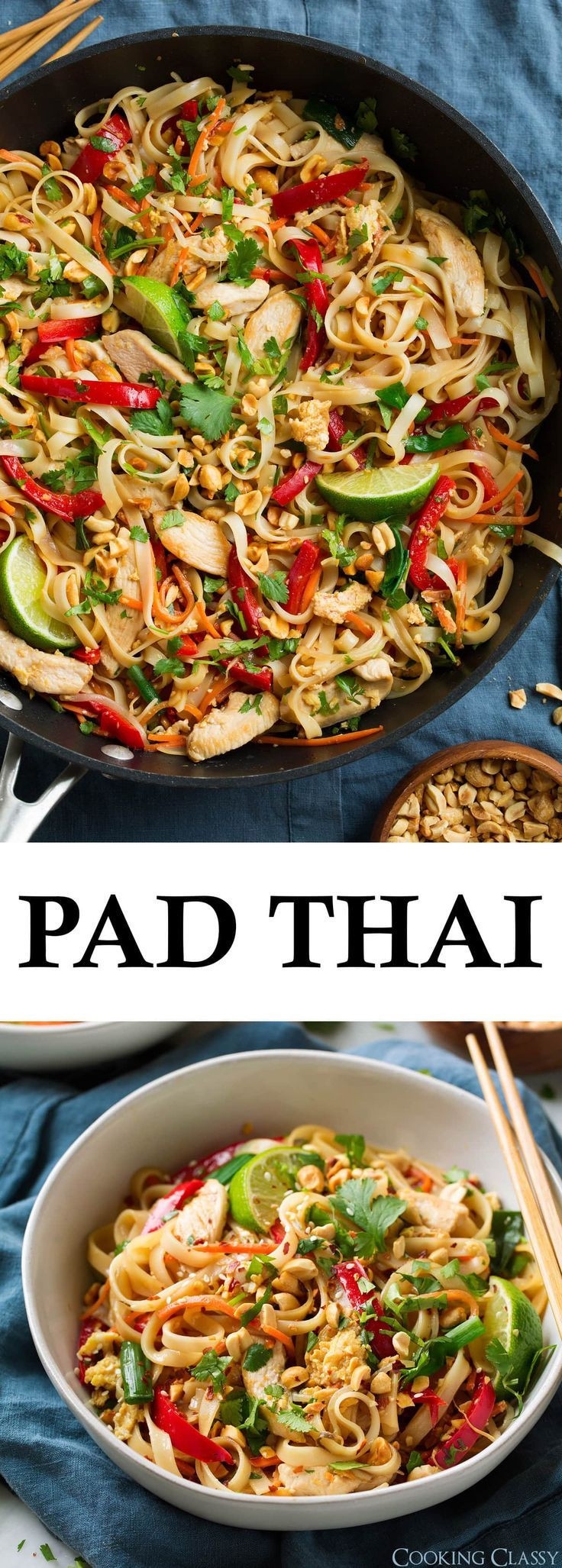 Chicken Pad Thai Calories Restaurant  Pad Thai with Chicken or Shrimp amazingly flavorful