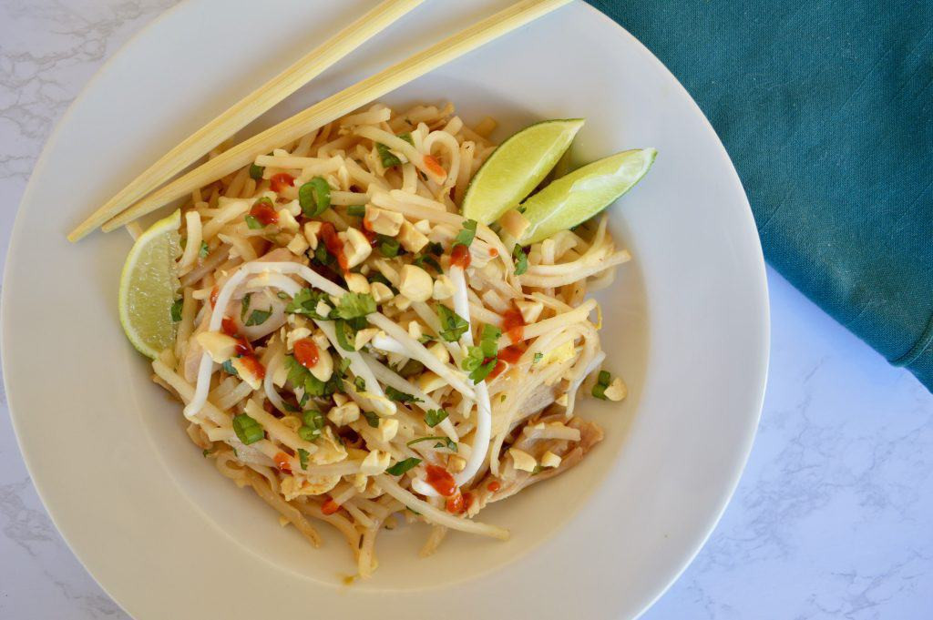 Chicken Pad Thai Calories Restaurant  Rotisserie Chicken Pad Thai This Delicious House