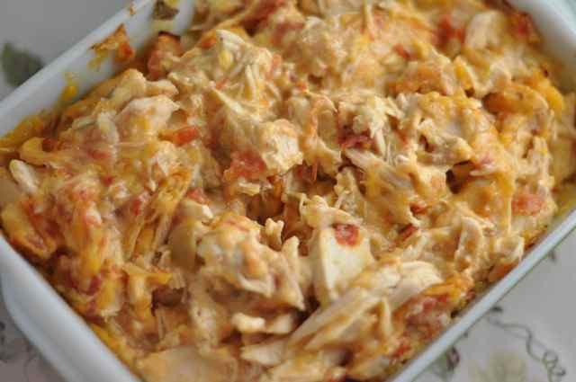 Chicken Rotel Casserole  Chicken Casserole