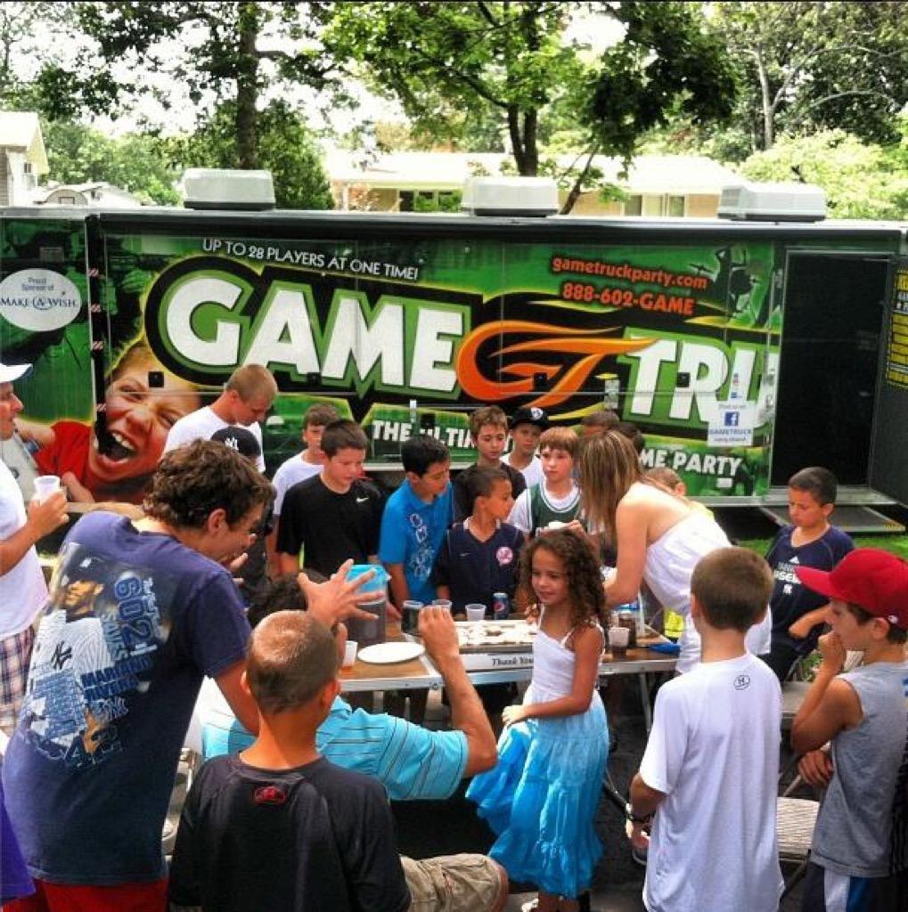 Children Party Entertainment Long Island  GameTruck Long Island Video Games LaserTag Gameplex