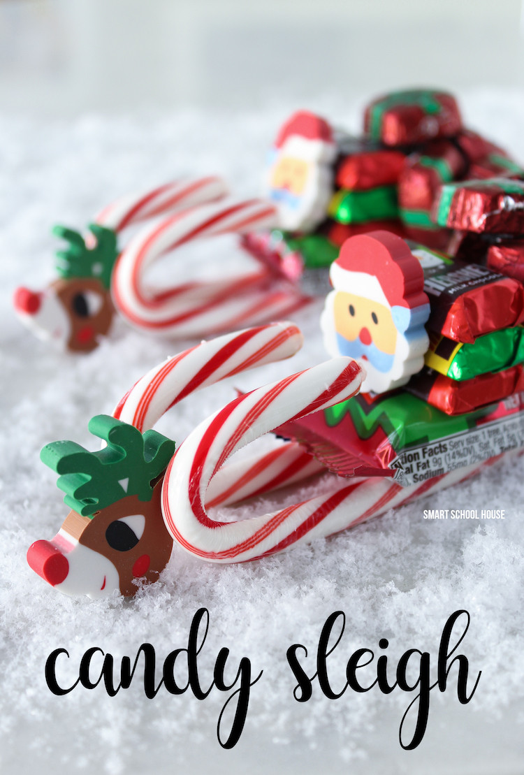 Christmas Candy Sleigh  17 Epic Christmas Craft Ideas Pretty My Party