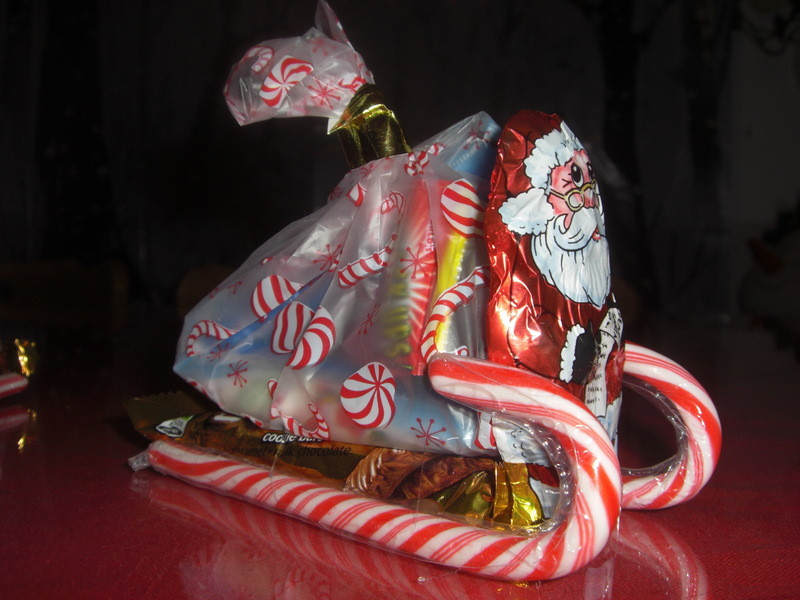 Christmas Candy Sleigh  Santa s Candy Sleigh