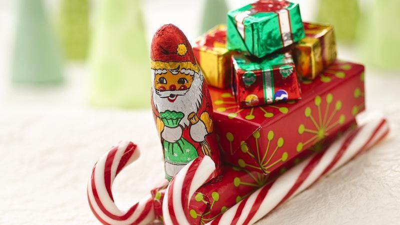 Christmas Candy Sleigh  Santa s Candy Sleighs recipe from Betty Crocker