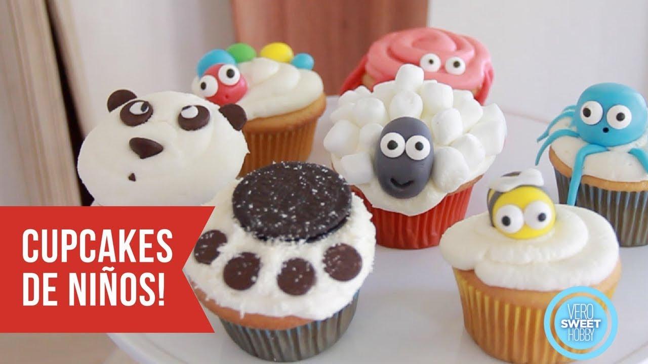 Como Hacer Cupcakes  Recetas De Cupcakes Para Ninos Faciles Mejores Recetas