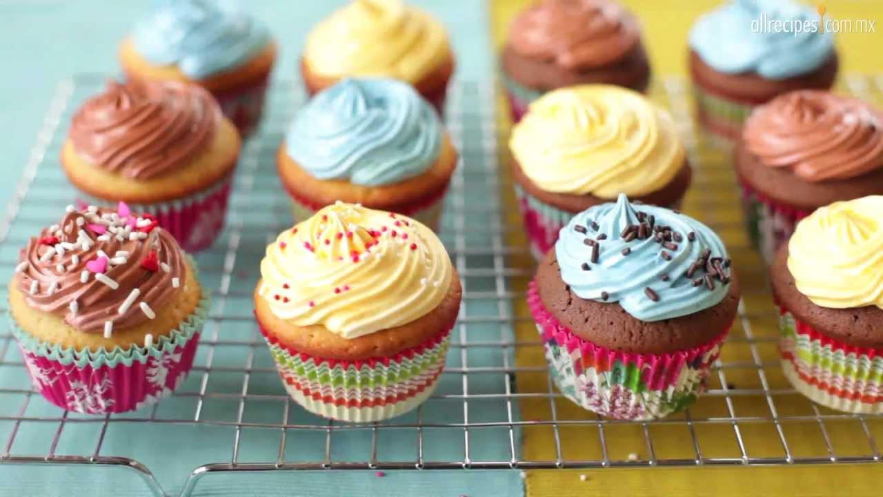 Como Hacer Cupcakes  Cómo hacer cupcakes fáciles
