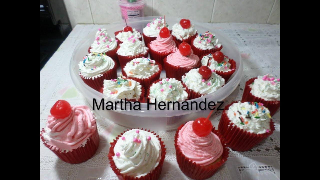 Como Hacer Cupcakes  Cómo preparar Cupcakes caseros deliciossimos