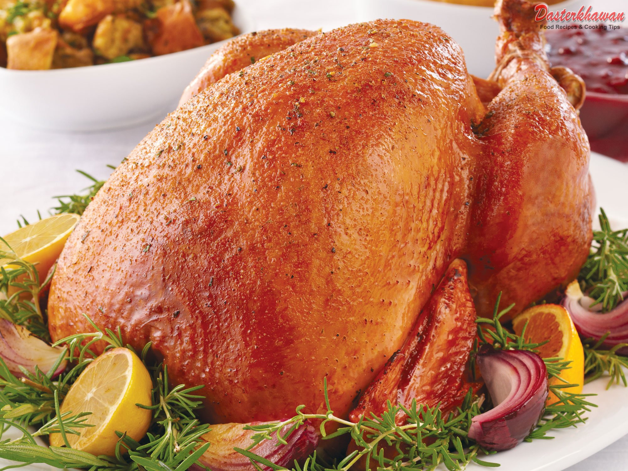 Cooked Thanksgiving Turkey  Thanksgiving Brined Turkey Thigh Recipes — Dishmaps