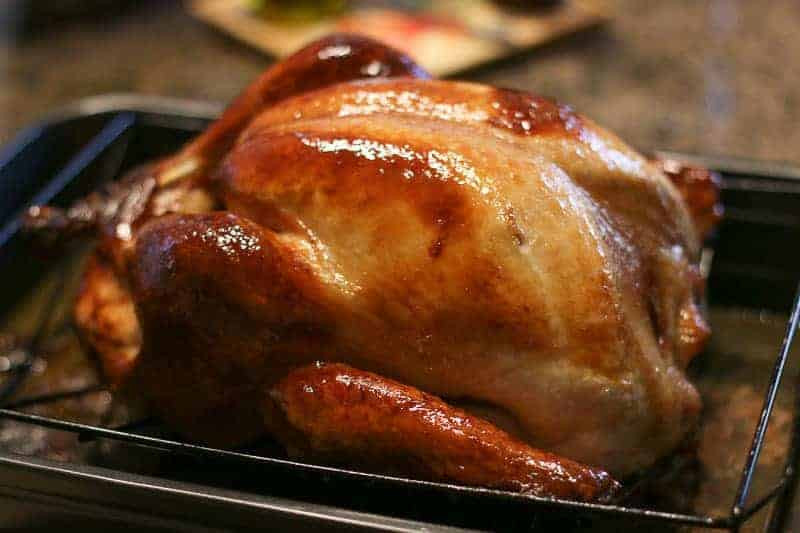 Cooked Thanksgiving Turkey  Five Tips to Cooking a Perfect Juicy Turkey A Fork s Tale