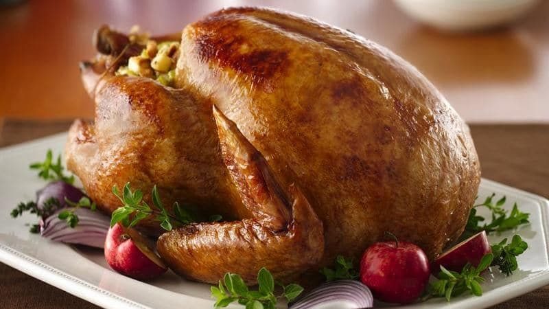 Cooked Thanksgiving Turkey  How To Cook A Turkey That Tastes Amazing BettyCrocker