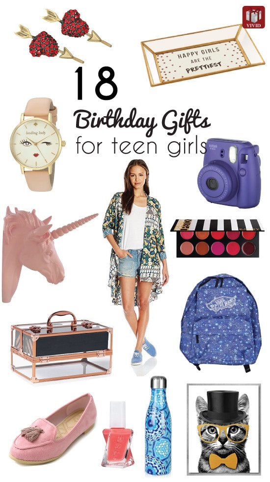 Cool Gift Ideas For Teenage Girls  18 Top Birthday Gift Ideas for Teenage Girls Vivid s