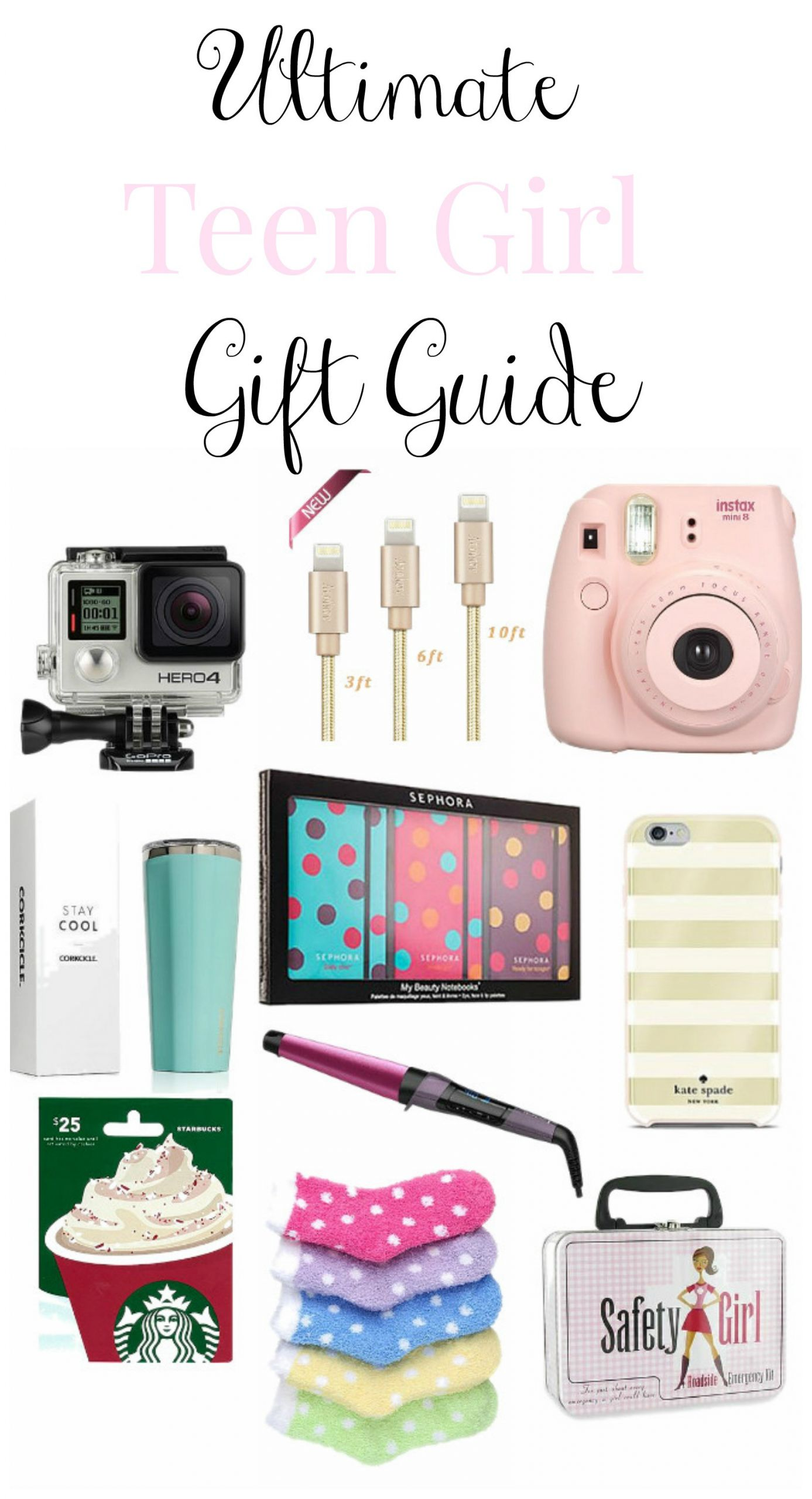 Cool Gift Ideas For Teenage Girls  Teen Girl Christmas Gift Guide Re Fabbed
