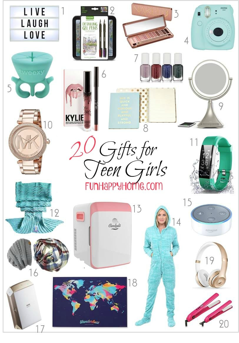 Cool Gift Ideas For Teenage Girls  Gifts For Teen Girls That Will Make Them Think You re Cool