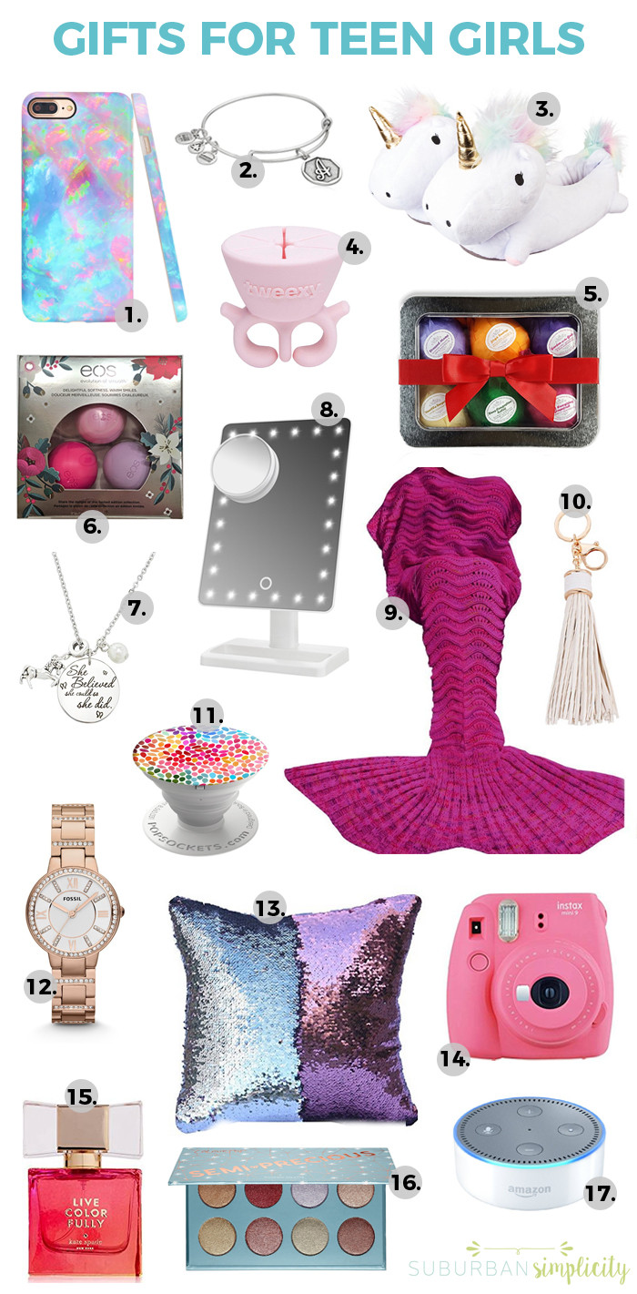 Cool Gift Ideas For Teenage Girls  17 Best Gift Ideas for Teen Girls