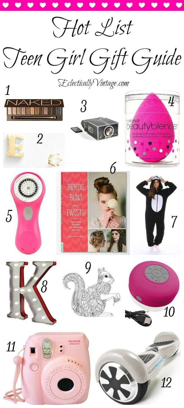 Cool Gift Ideas For Teenage Girls  Pin on DIY Ideas