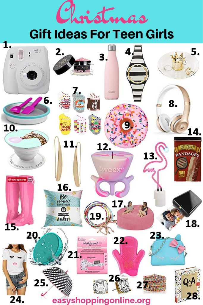 Cool Gift Ideas For Teenage Girls  Pin on Christmas Gift Ideas