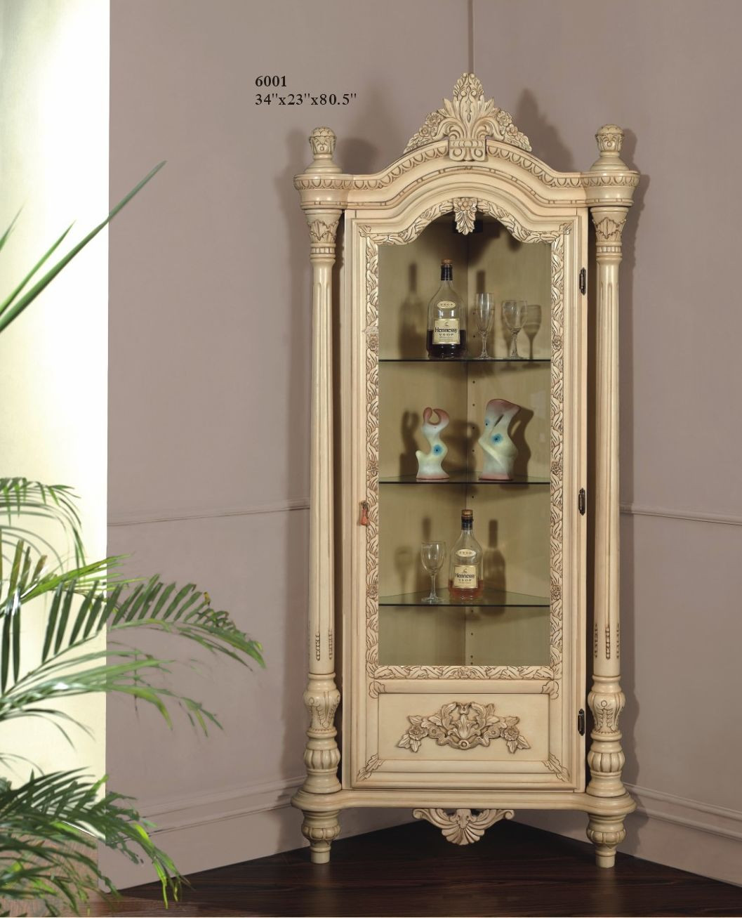 Corner Cabinet Bedroom  Corner Display Cabinet $699