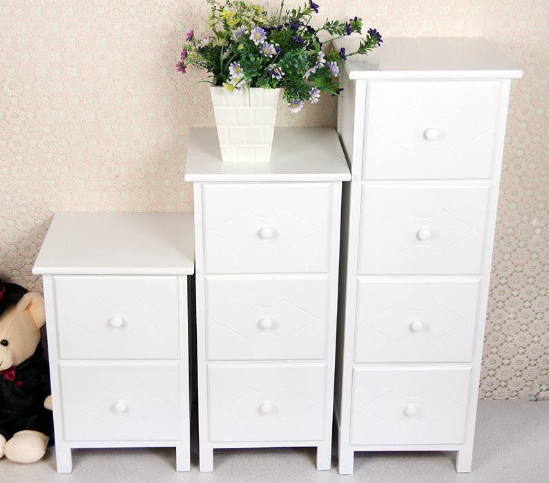 Corner Cabinet Bedroom  White Wooden Drawer Bedroom Corner Cabinet Living Room