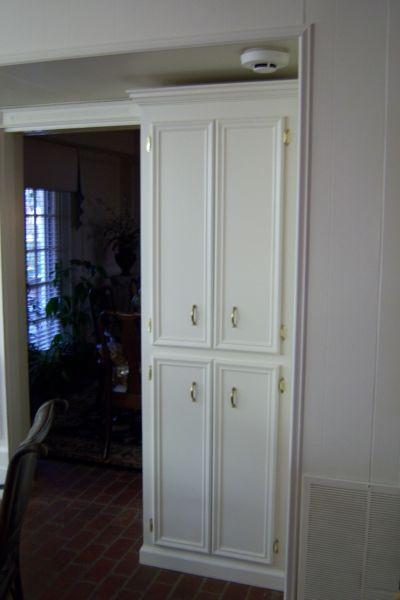 Corner Cabinet Bedroom  Kenneth Guenther Construction Remodeling