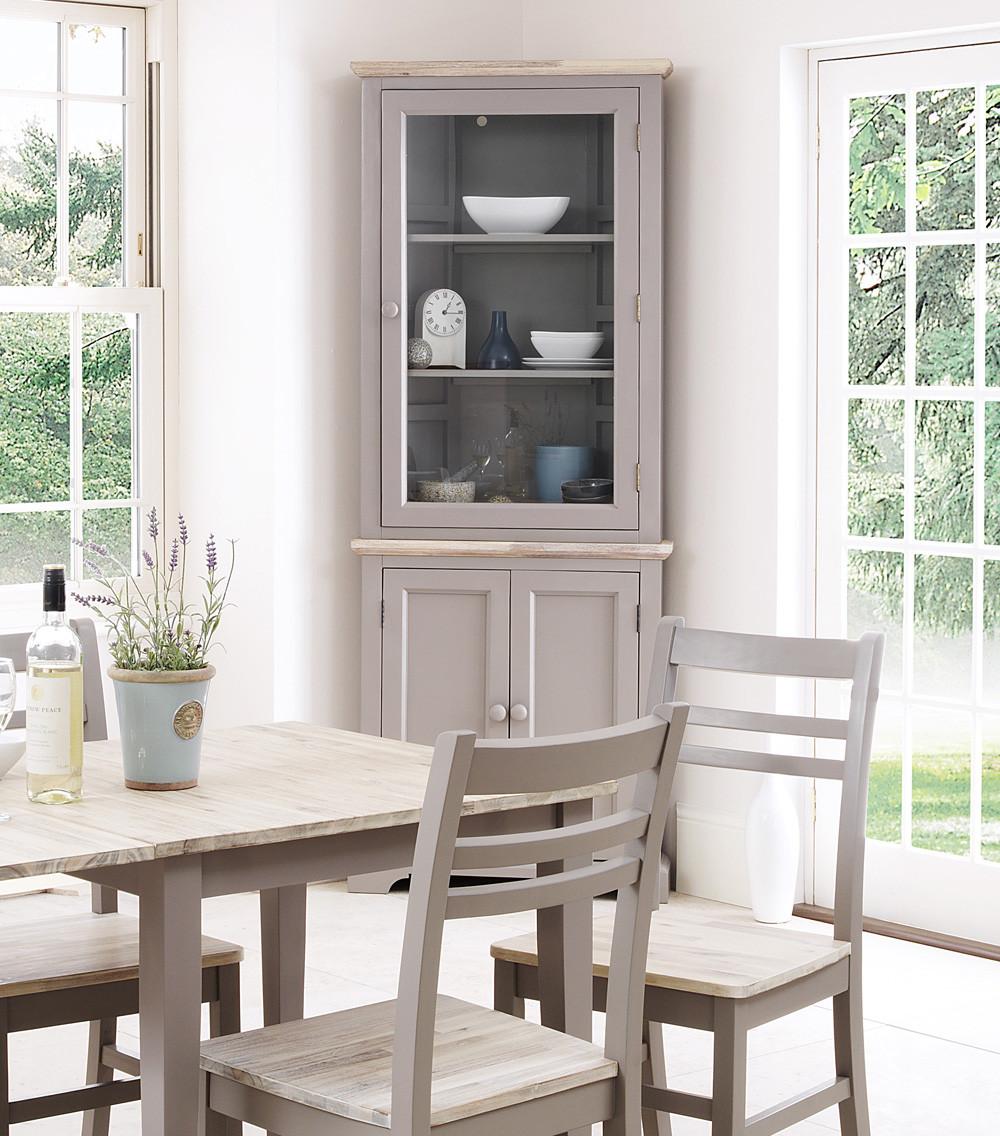 Corner Cabinet Bedroom  FLORENCE glass corner cabinet glass kitchen dresser
