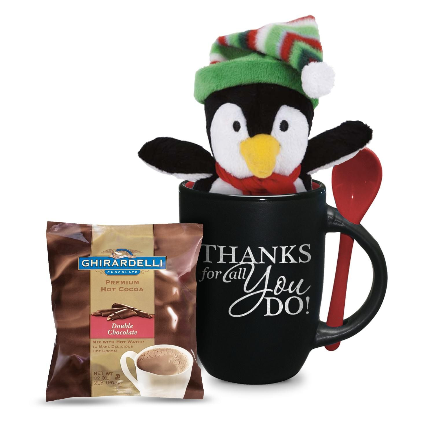 Corporate Holiday Party Gift Ideas  Thanks For All You Do Penguin Gift Set