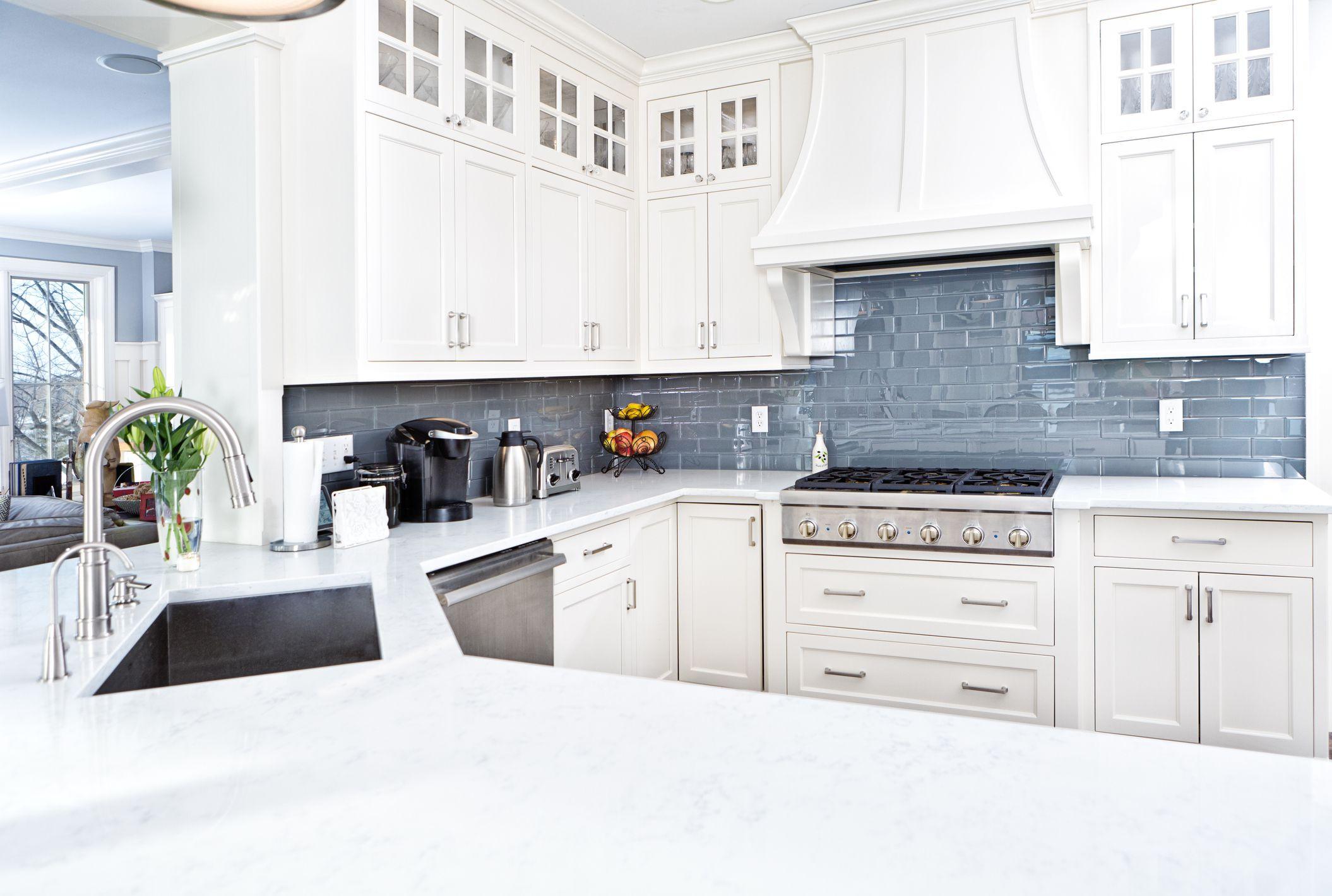 Cost Of Kitchen Backsplash  Tile Ideas for Kitchen Floors and Backsplashes