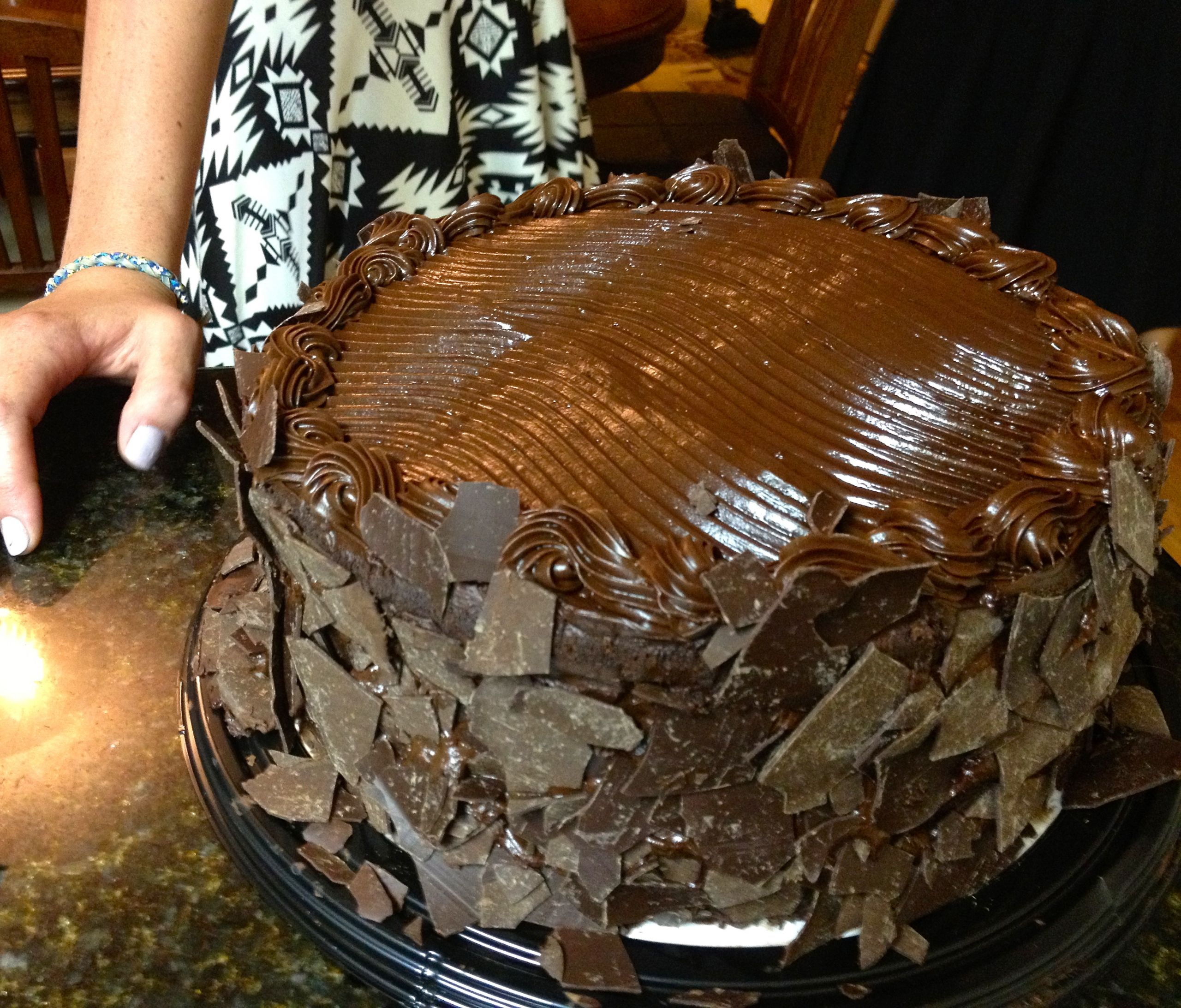 Costco Chocolate Cake  No 134 Chocolate Celebration
