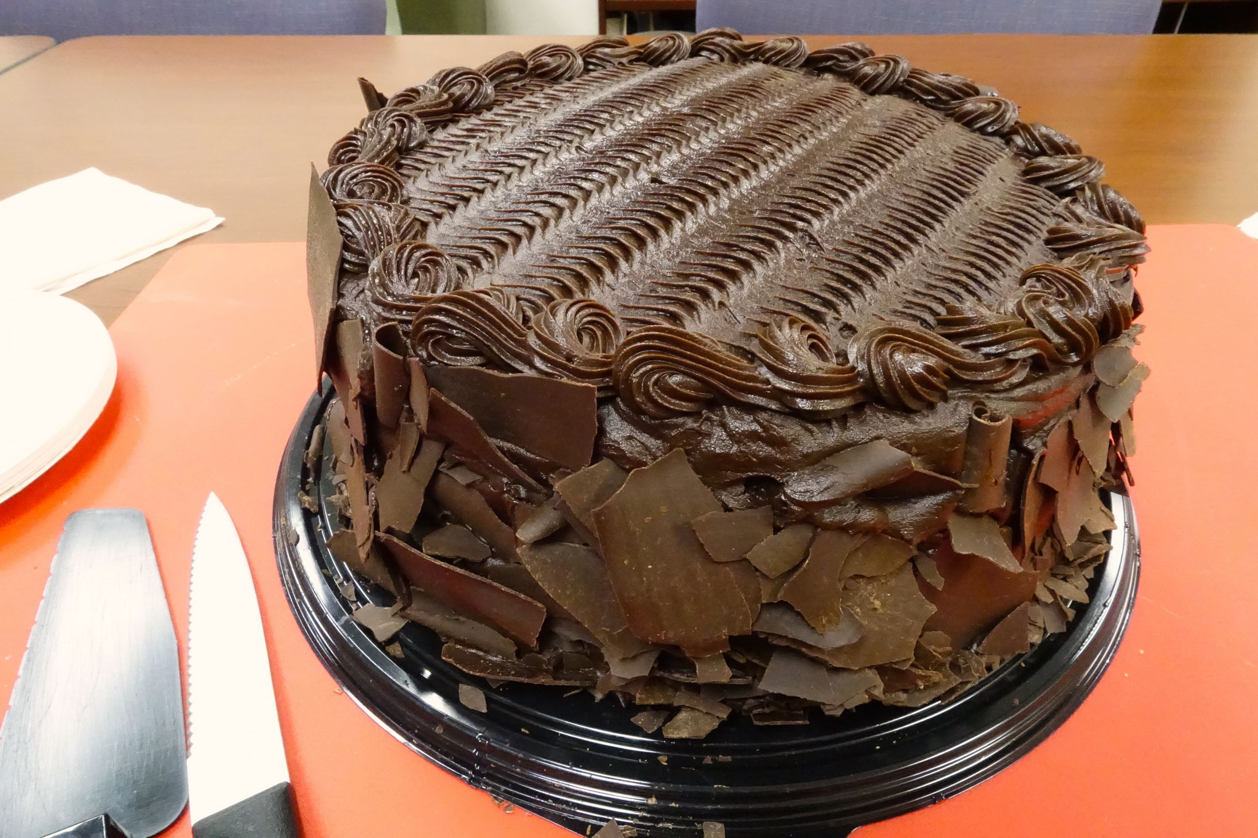 Costco Chocolate Cake  Center for Philosophy of Science last donut