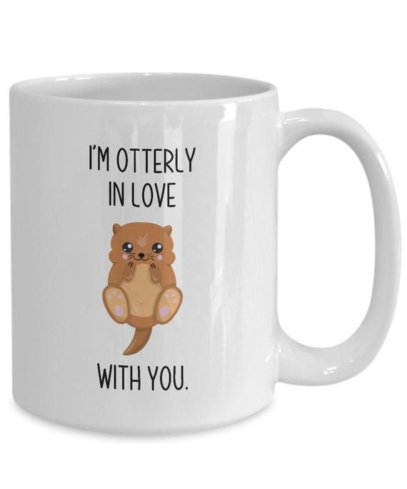 Couples Gag Gift Ideas  Gift for couples otterly in love with you perfect funny