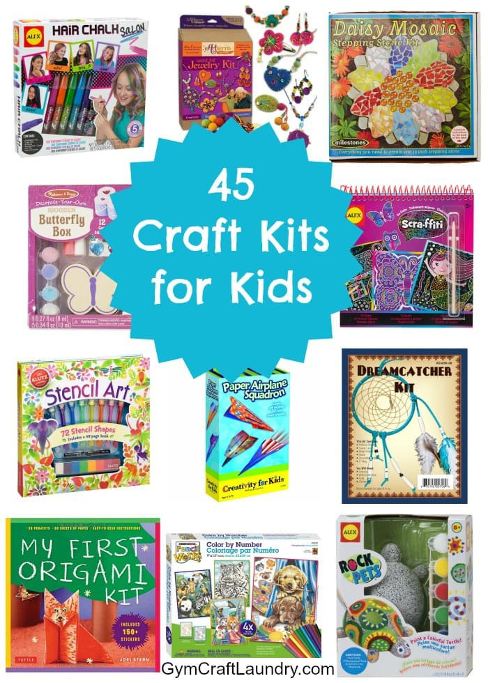 Craft Kit For Kids  45 Fun Craft Kits for Kids Gym Craft Laundry