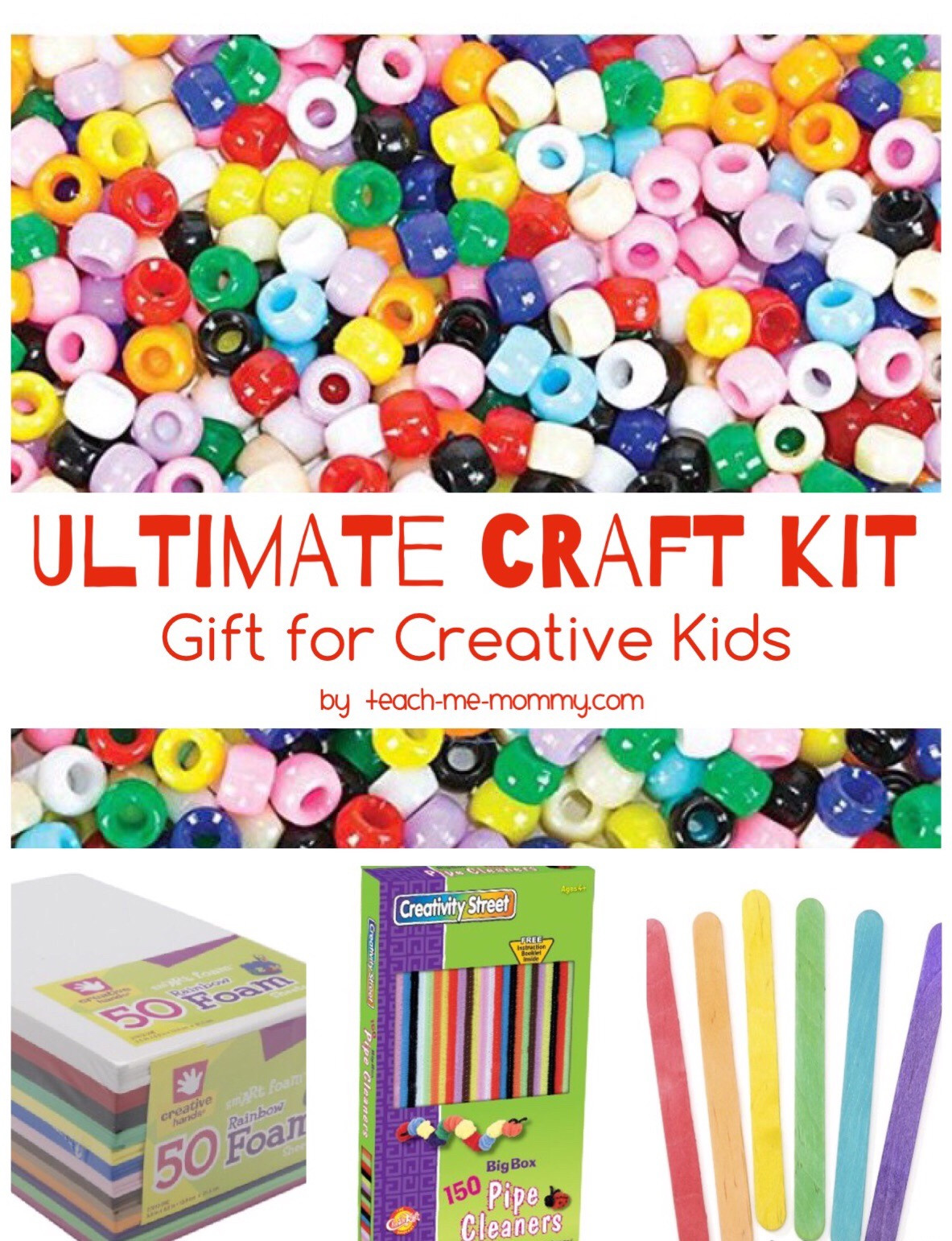 Craft Kit For Kids  The Ultimate Craft Kit for Creative Kids Teach Me Mommy
