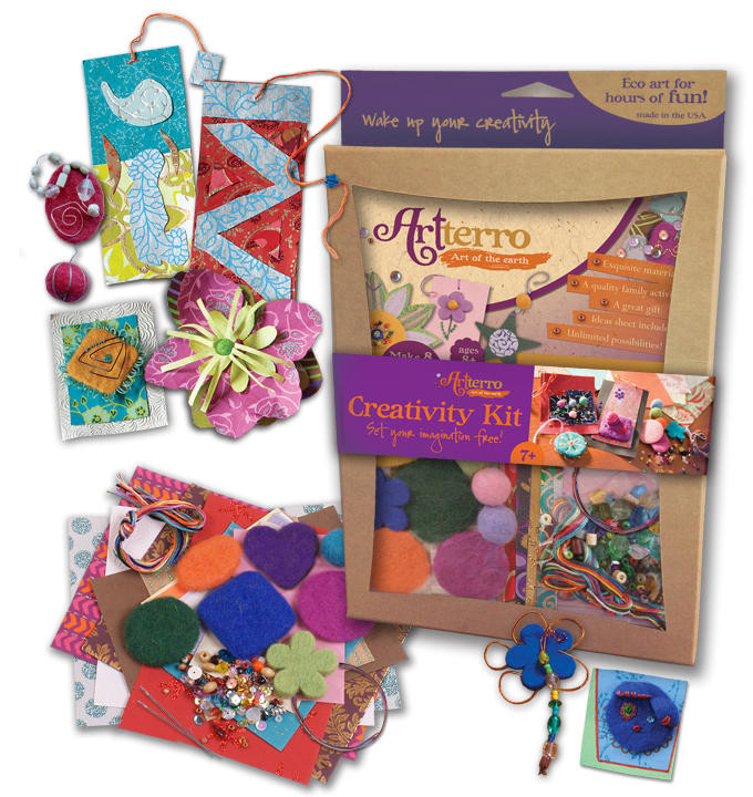 Craft Kit For Kids  Artterro DIY Craft Kit Giveaway Soap Deli News