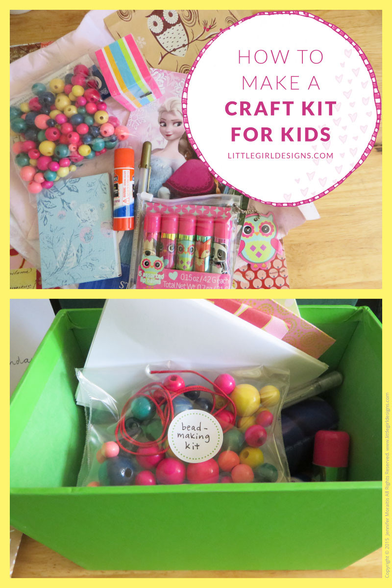 Craft Kit For Kids  How to Make a Craft Kit for kids Jennie Moraitis