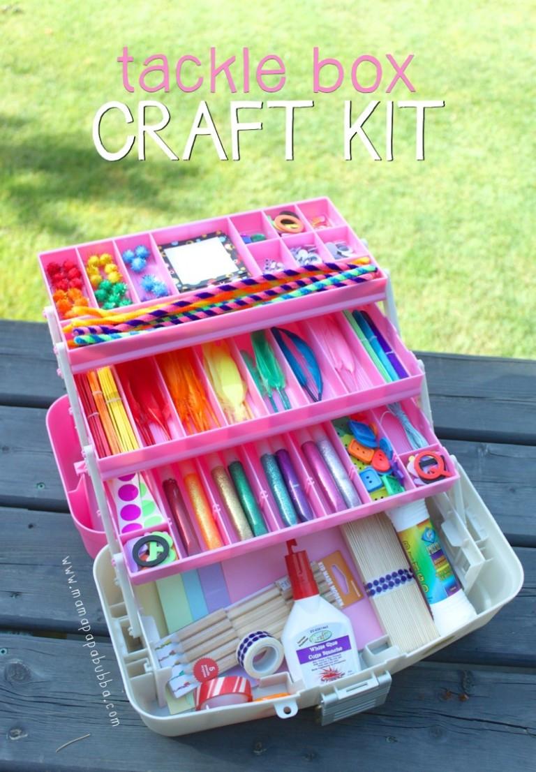 Craft Kit For Kids  20 DIY Craft Kits for Kids [ t ideas] – Tip Junkie