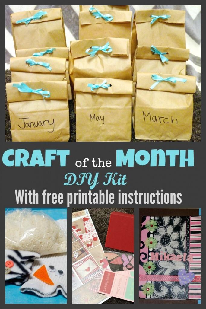 Craft Kit For Kids  DIY Kids Craft Subscription Kit