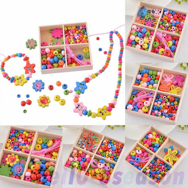 Craft Kit For Kids  1Box Girls Boys Children Friendship Beads Jewelry Making