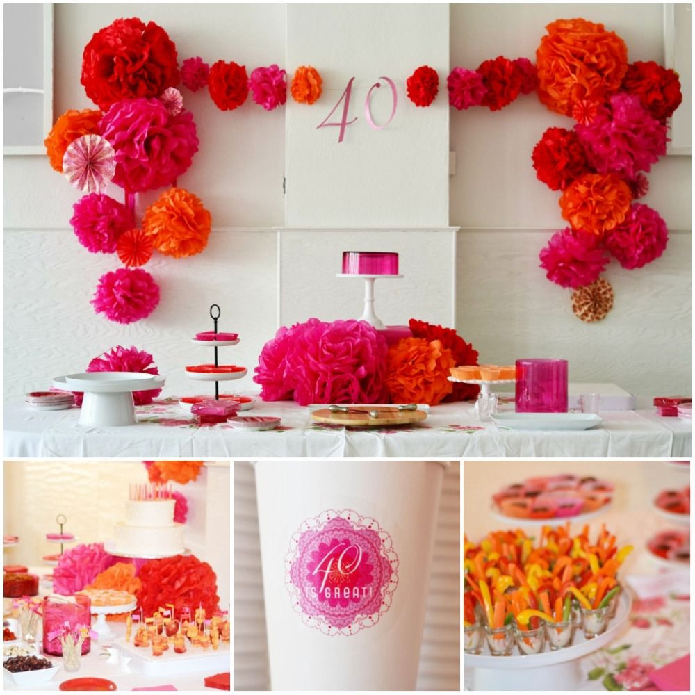 Craft Party Ideas For Adults  40th Birthday Party Idea