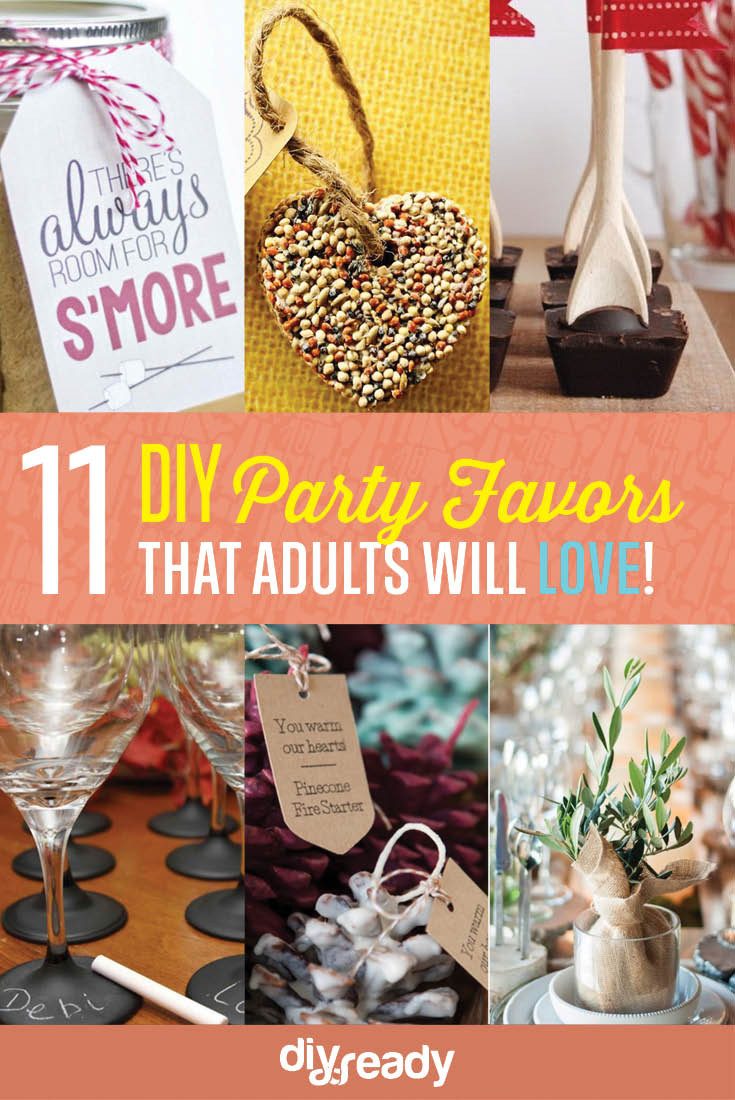 Craft Party Ideas For Adults  11 Personalized Adult Party Favor Ideas