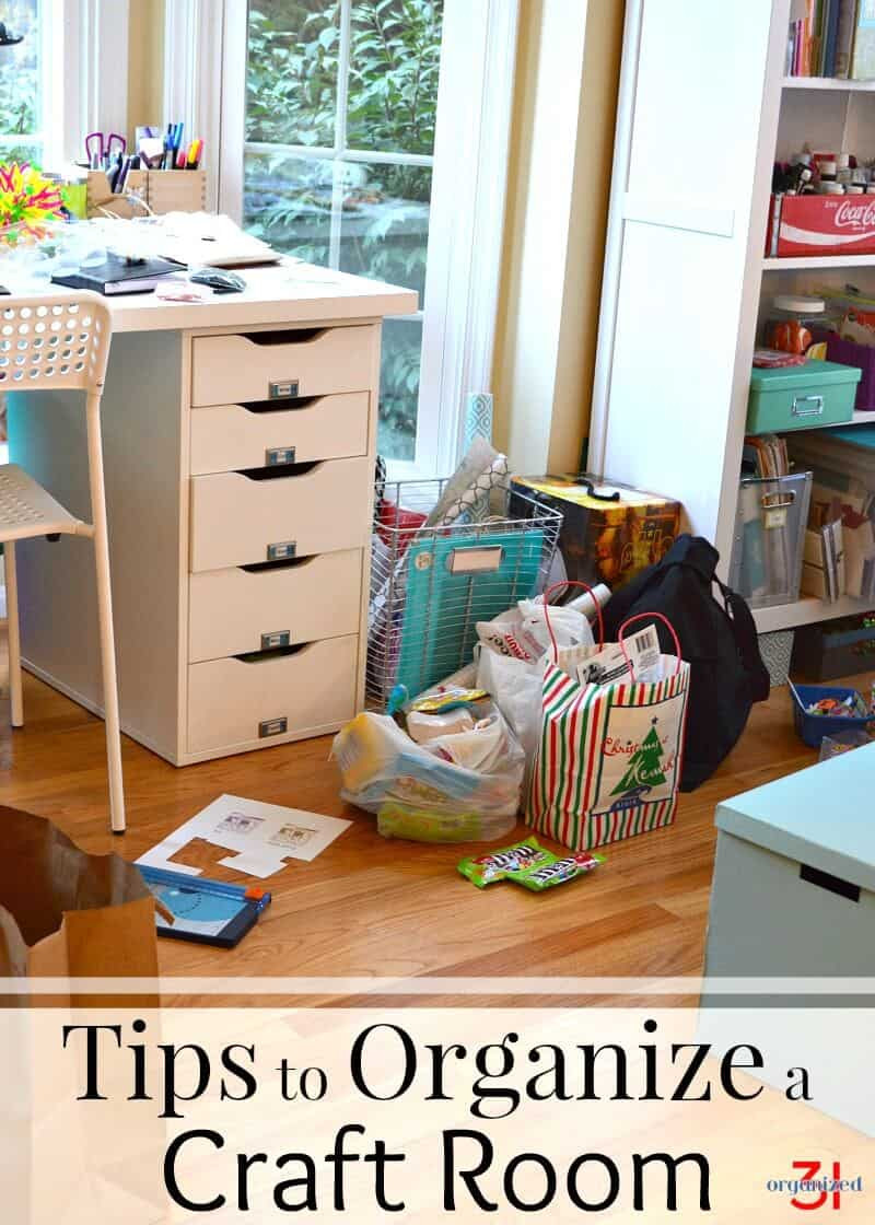 Craft Room Organizing Ideas  Tips to Organize a Craft Room With Frugal and Pretty Ideas