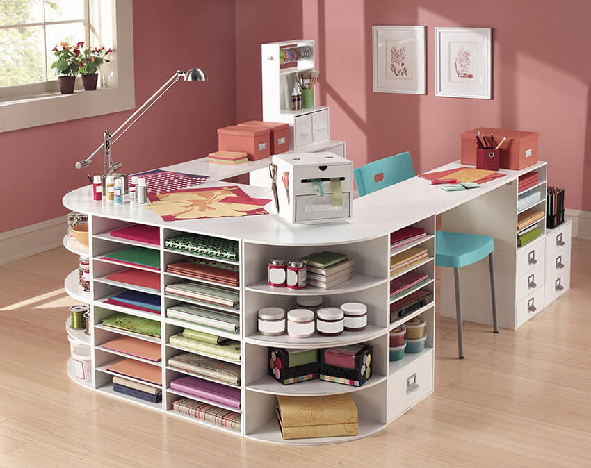 Craft Room Organizing Ideas  13 Clever Craft Room Organization Ideas for DIYers