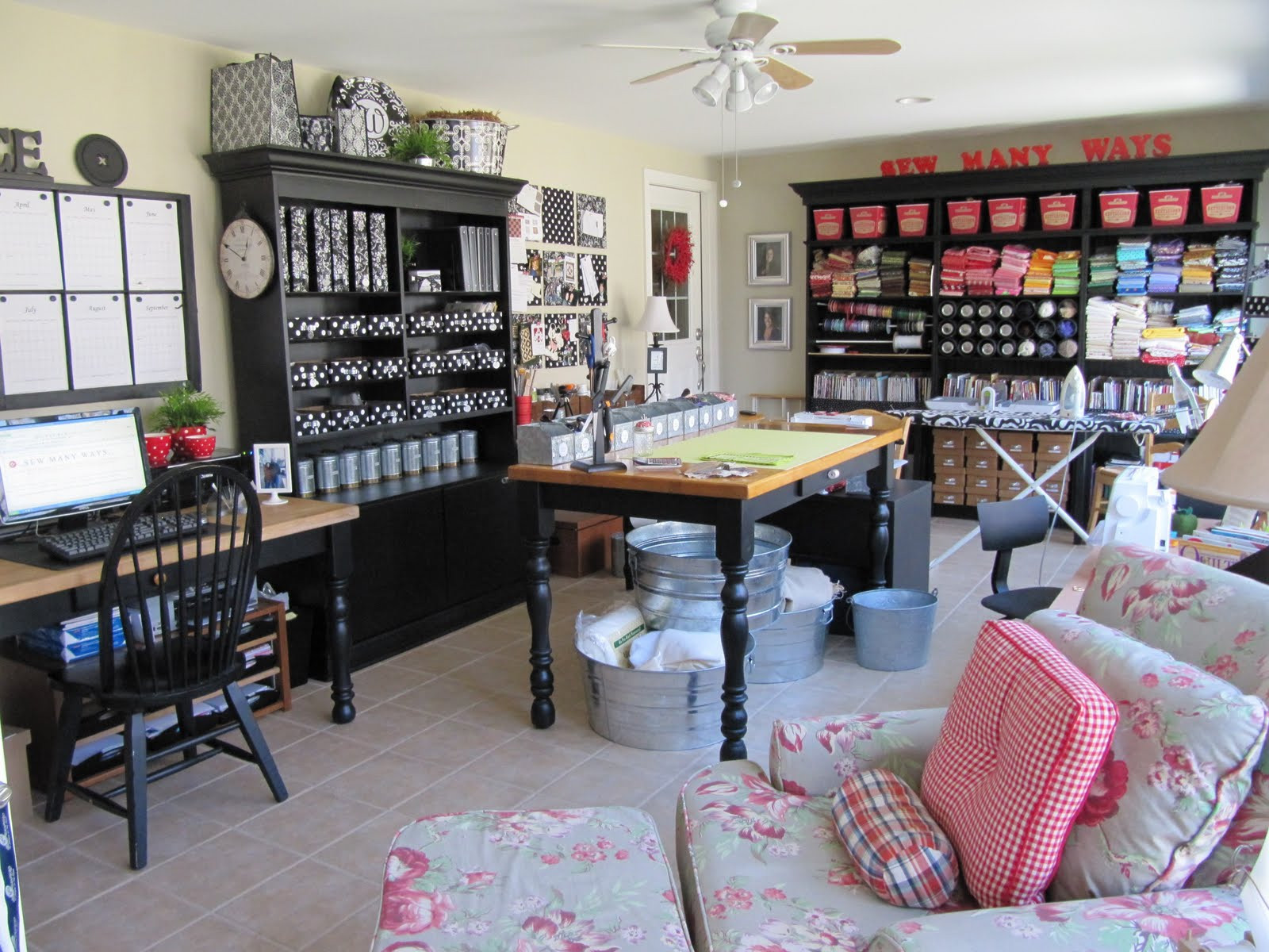 Craft Room Organizing Ideas  By Your Hands Organizing Craft Room Inspiration