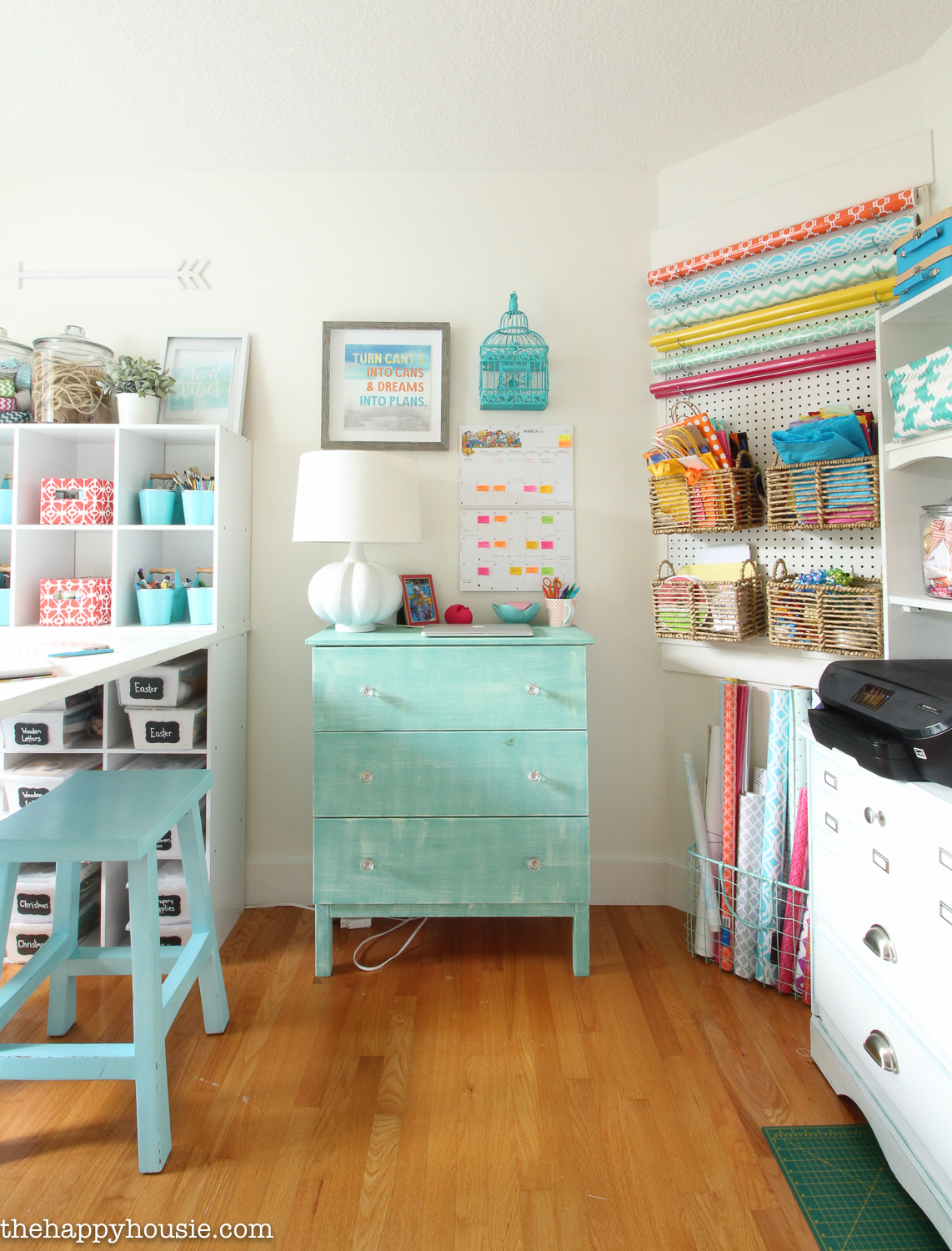 Craft Room Organizing Ideas  How to Organize a Craft Room Work Space