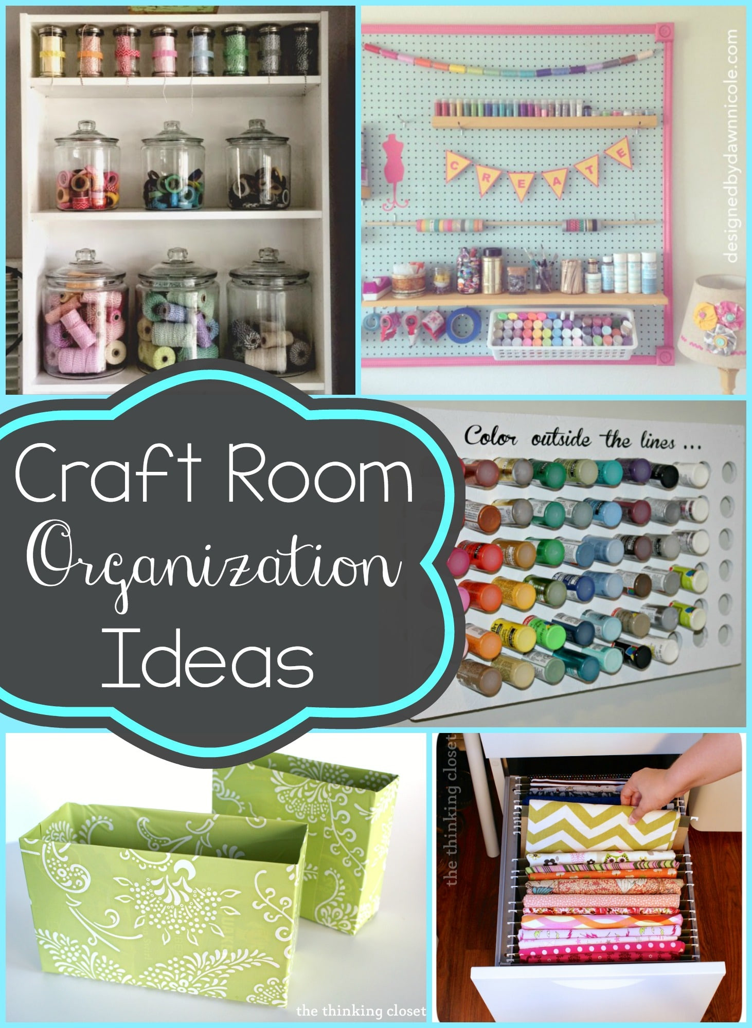 Craft Room Organizing Ideas  Ideas for Organizing Your Craft Room Typically Simple