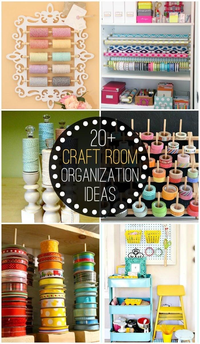 Craft Room Organizing Ideas  Home Organization Ideas