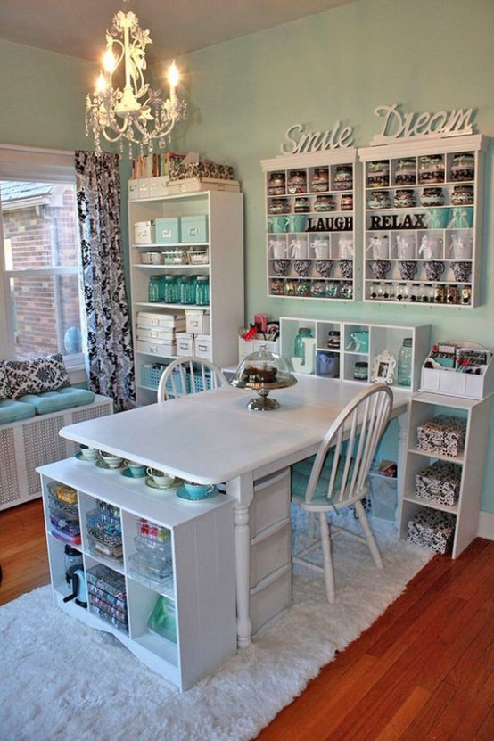 Craft Room Organizing Ideas  40 Ideas To Organize Your Craft Room In The Best Way
