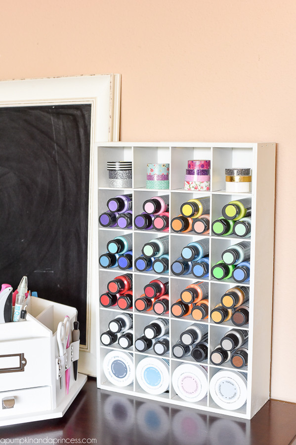 Craft Room Organizing Ideas  15 Fun & Amazing Craft Room Ideas Crazy Little Projects