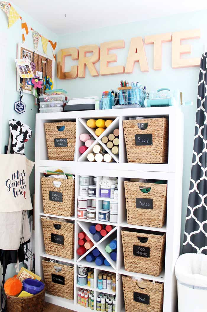 Craft Room Organizing Ideas  Condo Blues
