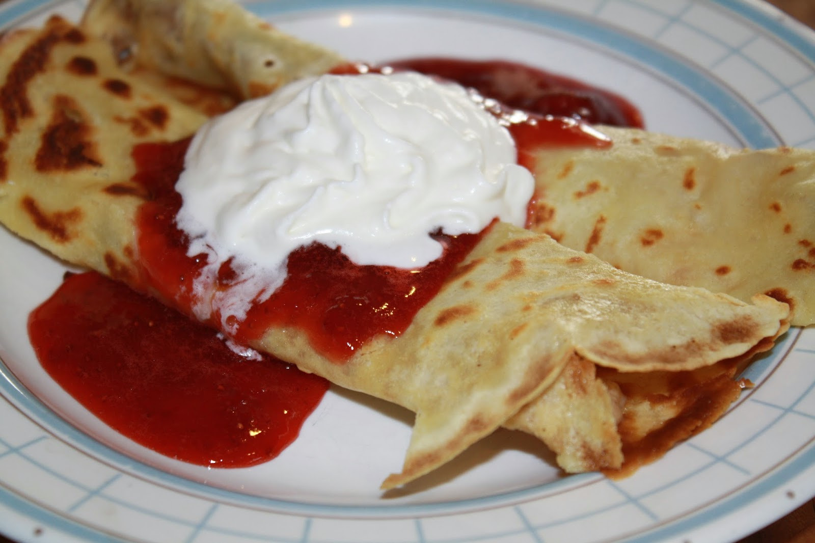 Cream Cheese Crepes  Her Peculiar Life Strawberry & Cream Cheese Crepes