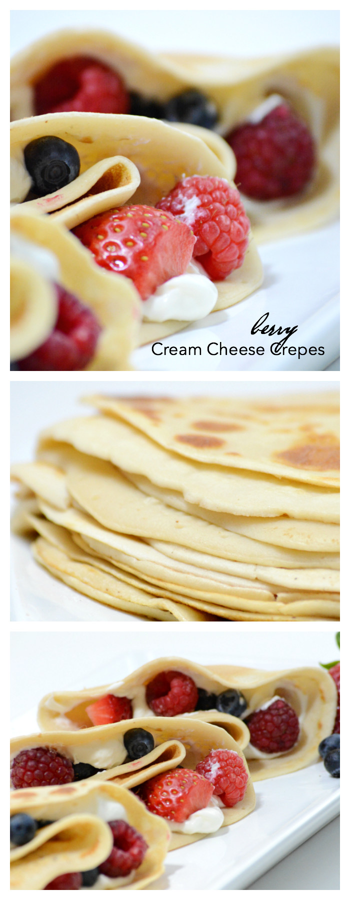 Cream Cheese Crepes  Berry Cream Cheese Crepes The Idea Room
